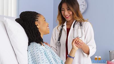 nurse and patient, norwich msn