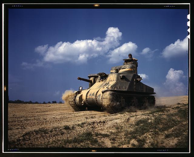 M-3 tanks in 1942