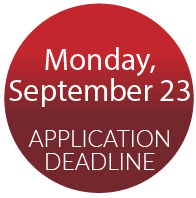 Application deadline: September 23