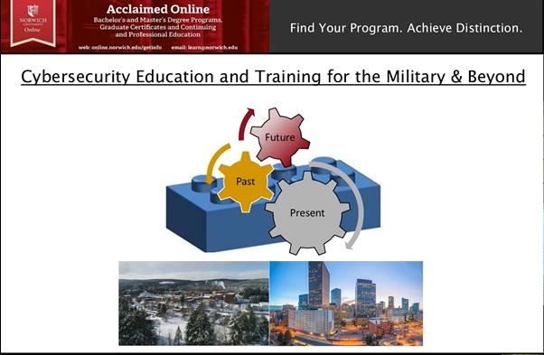 Cybersecurity Education Webinar Slide