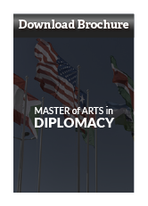 Download Master of Arts in Diplomacy Brochure