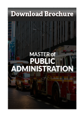 Download Master of Public Administration Brochure