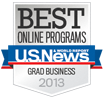 Online MBA Program Named a Best by US News & World Report
