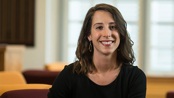 Natalie Elvidge, Master of Public Administration