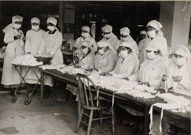 nurses during historic pandemic