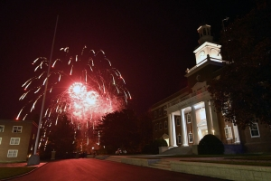 Homecoming 2019 fireworks