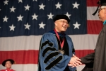 Dr. Richard Schneider at CGCS commencement