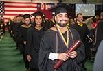 graduates at 2018 commencement