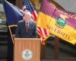 Senator Leahy, Norwich flag