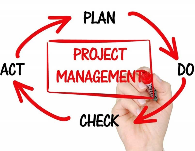 project management cycle chart