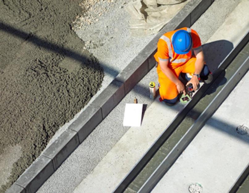 engineer at work site